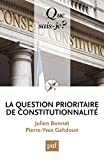 La question prioritaire de constitutionnalité