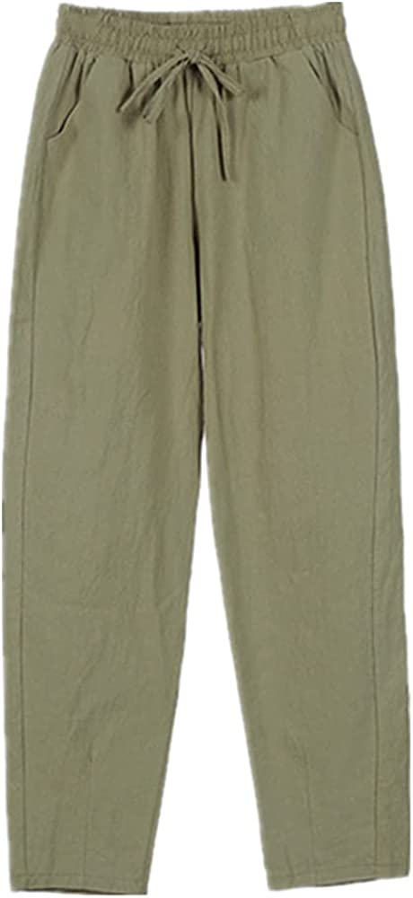 NP Womens Spring Summer Pants Waist Colors Trousers Soft
