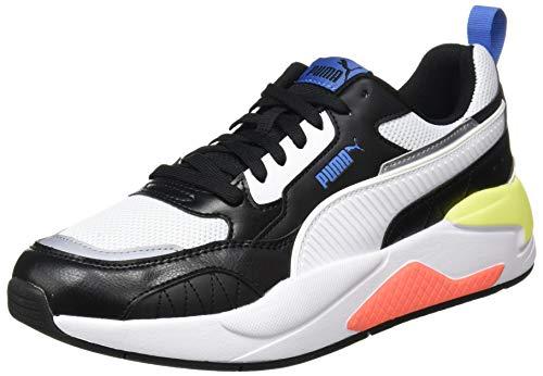 PUMA X-Ray 2 Square Sneaker Unisex, Nero (Puma Nero Puma Bianca Star Sapphire Morbido Fluo Giallo),...