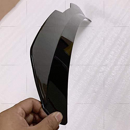 AleróN ABS Fibra de CarbonTrasero Coche Trunk Alerón Trasero Wing Tail Tapa Accesorios Ajustable, para SEAT LEON 2000-2020 3 Türen / 5 Türen für 1P MK2 5F MK3