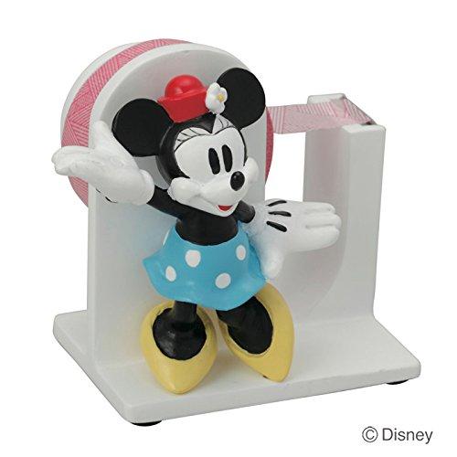 テープディスペンサー ディズニー ミニーマウス テープカッター テープ台 セロハンテープ