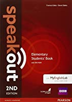 Speakout (2E) Elementary Course Book with DVD-ROM and MyLab Access