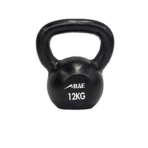 Kettlebell de Ferro Polido para Treinamento Funcional 12 kg - Rae Fitness
