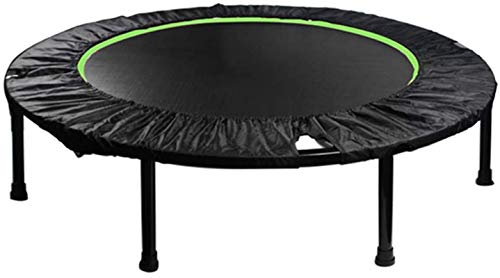 ZHENG Exercise Trampoline Indoor Trampoline Trampoline For Kids Adults Foldable Design Trampoline With Safety Pad For Indoor Garden Workout Cardio Training (Size : 48 inch)