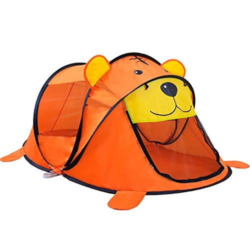 YJF-TENT La Tente Pop Up pour Enfants de très Grande Taille, Tente de Portage instantanée pour moustiquaires de Voyage, Maison de Jeu extérieure
