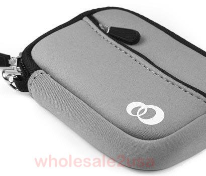 - Gray High-Quality Mini Sleeve Pouch Bag for Nikon Coolpix S570 Digital Camera {+ 1pc name tag} -- Best Seller on Amazon!