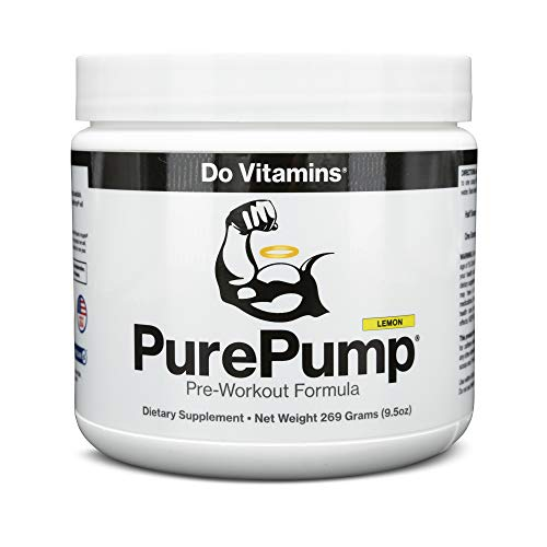 PurePump Lemon Natural Pre Workout Supplement
