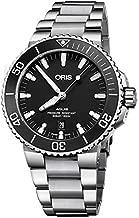 Oris Aquis Date Black Dial 43.5mm Stainless Steel Men's Watch 73377304154MB