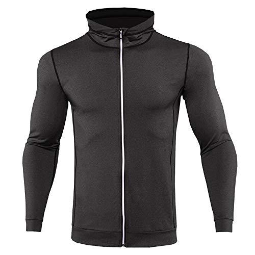 Otoño e Invierno Moda Deportes Running Fitness Mantener Caliente Secado rápido Abrigo...