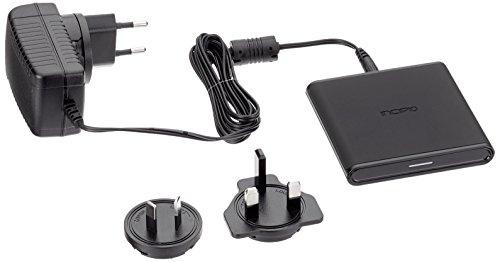 Incipio GHOST Qi Wireless Charging laadstation voor bijvoorbeeld Apple iPhone X, Samsung Galaxy S8 [15W I Qi gecertificeerd I Fast Charging I Incl. voeding I automatische uitschakeling] - PW-309-INT