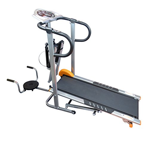 Fitness Station TE-718/1N Caminadora con Stepper y Twister