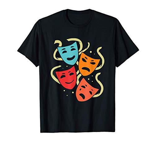 Obra de teatro o pantomima | Máscaras de colores Camiseta