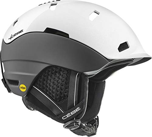Cébé Heritage Casco de Ski Matt Black Shiny White Adultos