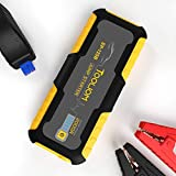 TOOLIOM 2000A 20000mAh Car Jump Starter Portable Auto Lithium Battery Booster 12V (up to 7.5L Gas or 5.0L Diesel Engine) with USB Quick Charge,Built-in LED Light