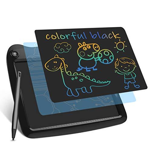 Lavagna LCD Enotepad 1 Confezione, Blocco per Tablet Elettronico Colorato per Bambini da 9 Ppollici, Lavagna Elettronica per l'ufficio Scolastico a Casa (Nero)