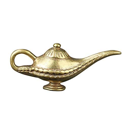planuuik Aladdin Lámpara Vintage Tea Oil Pot Wishing Light Retro Decoración del...