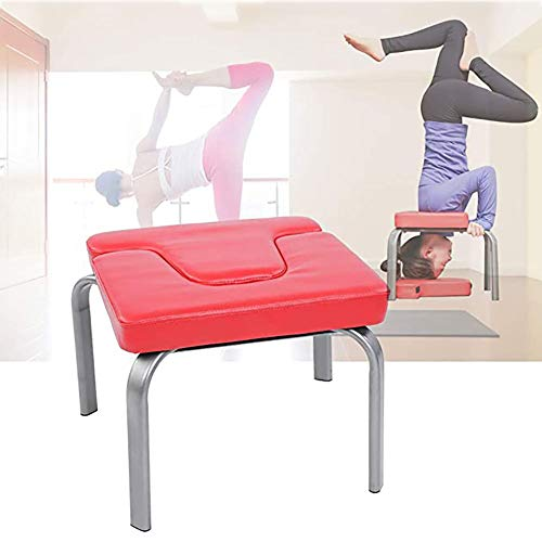 Best Bargain LISI Yoga Headstand Bench Yoga Inversion Chair, Workout Fitness Yoga Auxiliary Training...