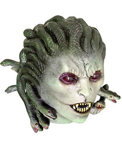 Horror-Shop Schlangenkopf Medusa Maske