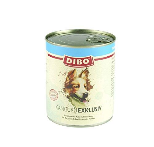DIBO - EXKLUSIV KÄNGURU, 800g-Dose aus reinem Muskelfleisch – Single Protein, DIBO-Qualität