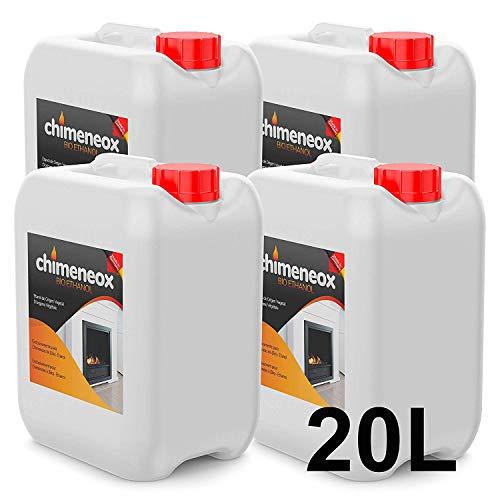 20 Litros Bioetanol 96% origen Vegetal para chimeneas - (4