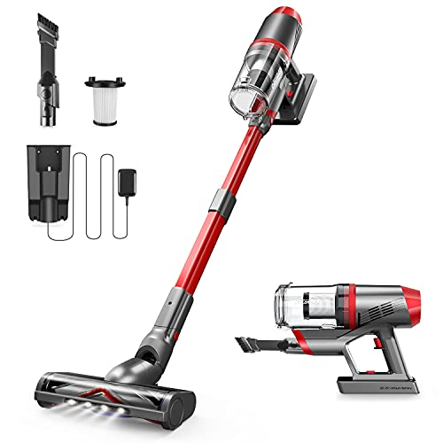 10000Pa Powerful Suction 150W Brushless Motor Cordless Stick Vacuum  Only $99.98!