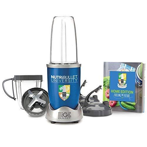 NutriBullet University by Magic Bullet 9-Piece High-Speed Blender/Mixer System, 900 Watts