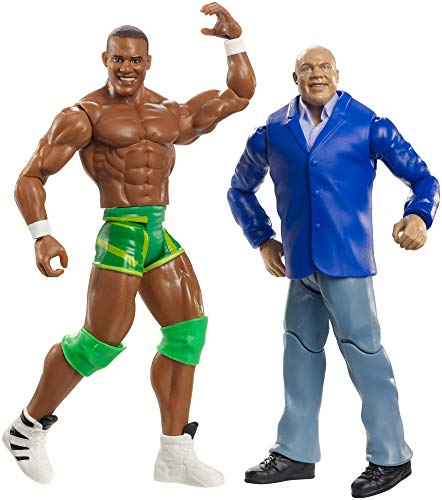 WWE GBN52 Battle Pack Includes Two 6 Inch Action Figures, with Articulation, Multi-Colour