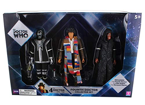 Doctor Who Fourth Doctor Collector Figures Set by BBC