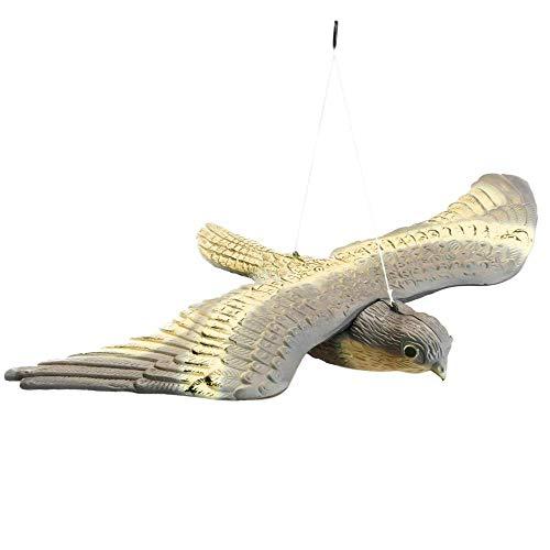 PrimeMatik - Vogelafstotende vogel type vliegende valk 54x35 cm
