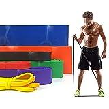 Bandas de energía de Bucle de Resistencia Pull Up Ejercicio Expander ELASTSFIT Muscle Forty Forty STRED Fitness Band 0506 (Color : Orange)