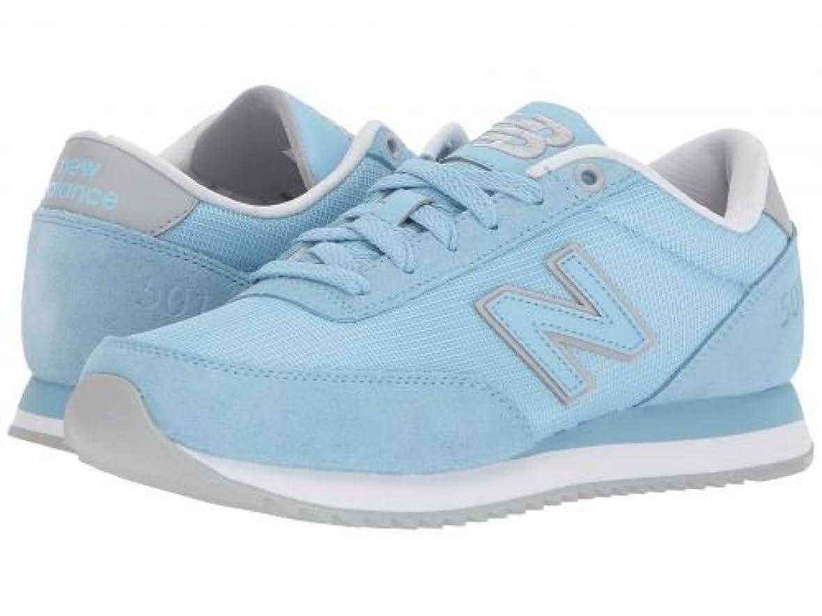 きゅうり唇バッテリーNew Balance Classics(ニューバランス クラシック) レディース 女性用 シューズ 靴 スニーカー 運動靴 WZ501v1 - Clear Sky/White [並行輸入品]