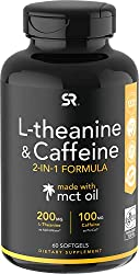 Sports Research L-Theanine & Caffeine best caffeine pills for focus