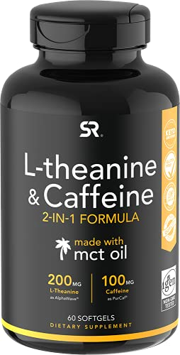 L-Theanine ~ Nootropic Supplement for Focused Energy ~ Keto Certified & Non-GMO Verified