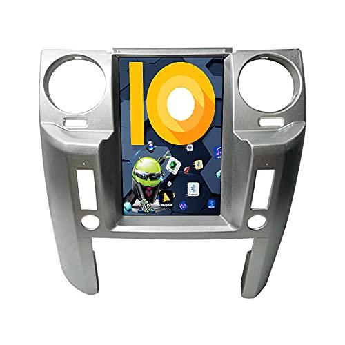 ZWNAV 9.7 pollici Android 10.0 Radio stereo per auto per Land Rover Discovery 3, unità di navigazione GPS, WiFi, Bluetooth, Carplay (4+64GB Carplay, Silver)