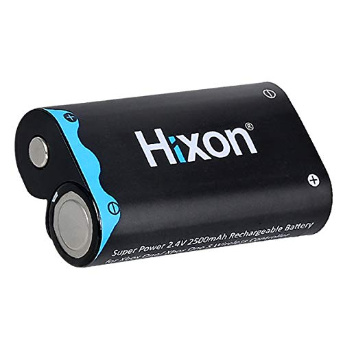 Hixon Xbox One Controller Akku 2500mAh für Xbox One/Xbox One S/Xbox One X/Xbox One Elite Wireless Controller