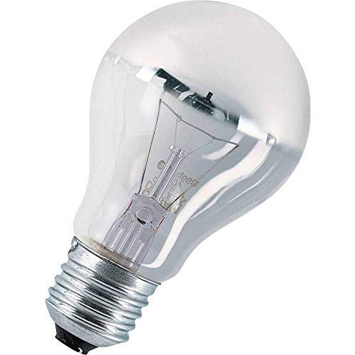 Osram Glühlampe, Spezial Kopfspiegellampe in silber, E27-Sockel, 60 Watt