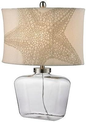 Amazon.com: Lite Fuente jayvon lámpara de mesa de cerámica ...