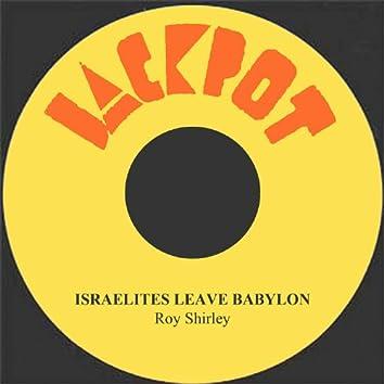 Israelites Leave Babylon