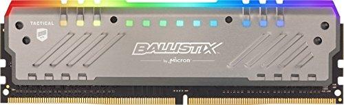 Crucial Ballistix Tactical Tracer BLT8G4D32AET4K RGB, 3200 MHz, DDR4, DRAM, Memoria Gaming per Computer Fissi, 8 GB, CL16
