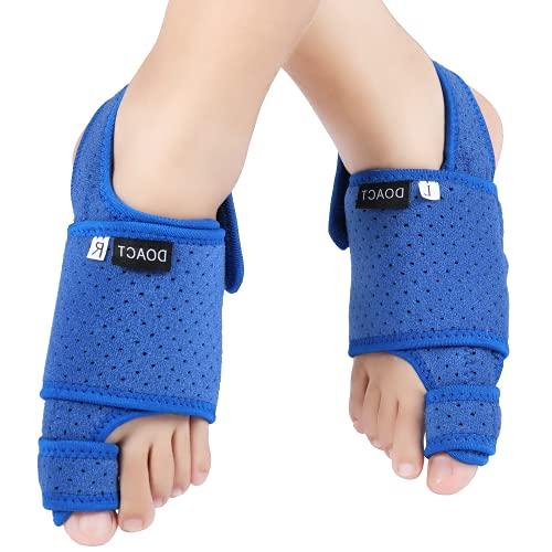 Férula para juanetes, cómodo corrector de juanetes con soporte de arco de gel de tamaño ajustable para caminar, correr y otros activos