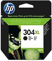 HP 304XL schwarz Original Druckerpatrone mit hoher Reichweite für HP DeskJet 2630, 3720, 3720, 3720, 3730, 3735, 3750,...