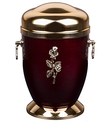 Superbe Rouge funéraires funéraire Urne funéraire pour adulte