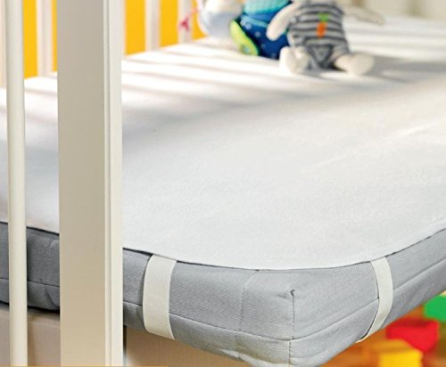 Kinder / Baby Molton Matratzenauflage / Matratzenschutz wasserdicht 70x140 cm