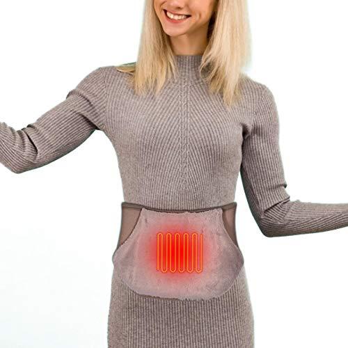 Heizgürtel USB Elektrisch, Rückenwärmer, Heizkissen, Wärmegürtel Heizkissen Für Rücken & Bauch, Wärmekissen, Geeignet Bauchwärmer Wärmegürtel Heizkissen