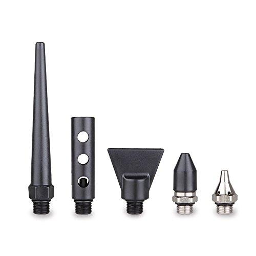 5-Piece Nozzle Set for Capri Tools 2-Way Air Blow Gun