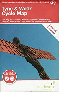 Tyne & Wear Cycle Map: Including the Sea to Sea, Hadrian's Cycleway, Reivers Route, Coast & Castles South, Three Rivers and 5 individual day rides ... ... Guide to the National Cycle Network)