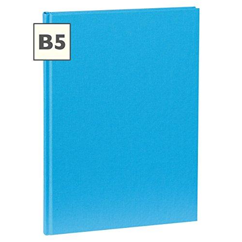 Semikolon (351293) Notizbuch Classic B5 blanko turquoise (türkis)  Notiz- und Sketch-Buch   144 Seiten mit cremeweißem 100g/m²- Papier