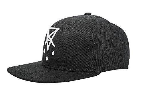 Chakuza Cap Blackout, Farbe:schwarz, Größe:one-Size