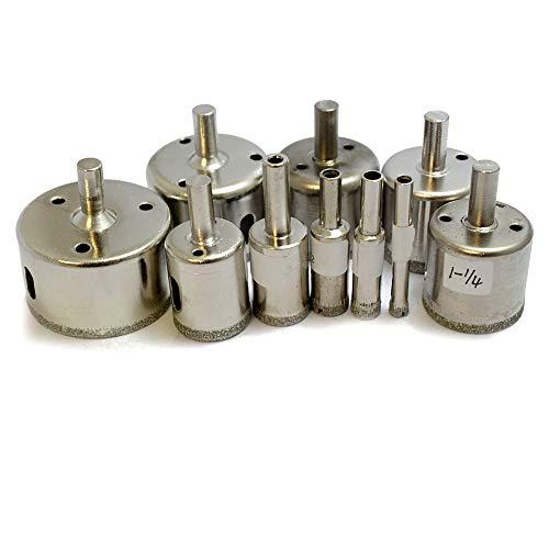 Oudtinx 10 Pcs Diamond Drill Bit Set 1/4