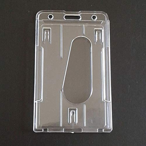 Nuestro soporte transparente para tarjetas está hecho de material de PVC, pero estos protectores de tarjetas de crédito son suaves, impermeables y ligeros y fáciles de usar. Tamaño aproximado: 60 x 101 mm. Es de tamaño compacto, ligero y fácil de lle...